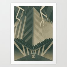 The Concrete Jungle Art Print