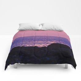 Pink at Dawn Comforters