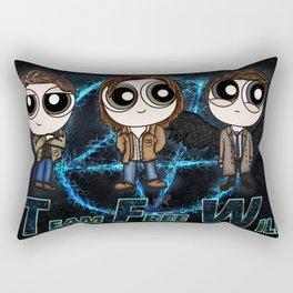 Team Free Will for life Rectangular Pillow