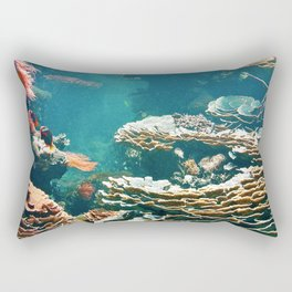 Coral Reef Rectangular Pillow