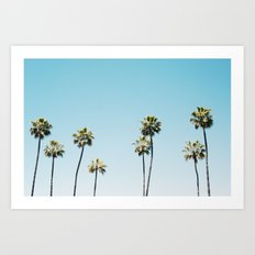 California Summer  Art Print