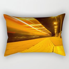 Train from Ulm Rectangular Pillow