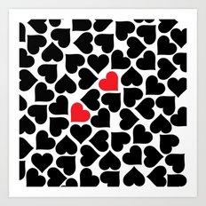 MPENZI ... love is in the air 3 Art Print