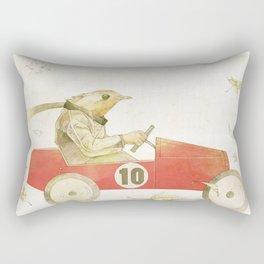 Bird runner Rectangular Pillow