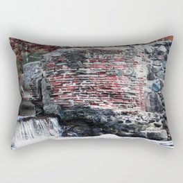 Mission Dam in the Fall Rectangular Pillow