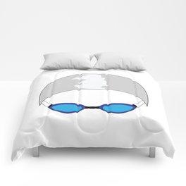 Swim Cap and Goggles Comforters