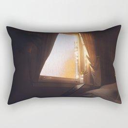 Day 1053 /// Pretty much my room Rectangular Pillow