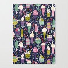 Summer Delights (dark) Canvas Print