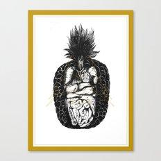 《魚蘿果的食素夢》—魚蘿體 Canvas Print