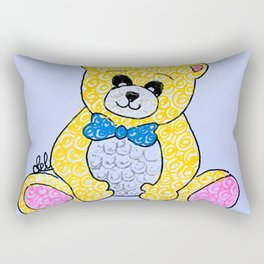 Sparkling bear Rectangular Pillow