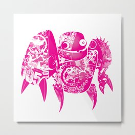 minima - slowbot 005 Metal Print