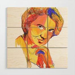 Rosalind Franklin by Aitana Pérez Wood Wall Art