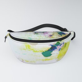 Abstract Paint Splatter Art Fanny Pack