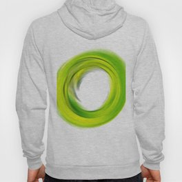 Soft Green Enso - Abstract Art By Sharon Cummings Hoody