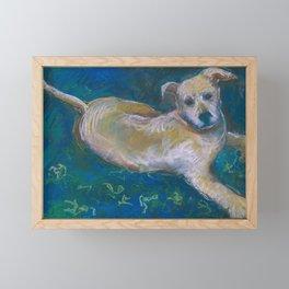 Jasper Framed Mini Art Print