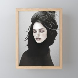 Elsewhere Girl Framed Mini Art Print