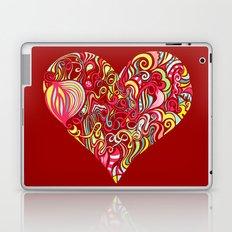 Doodle Heart Laptop & iPad Skin