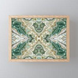 SMARAGDUS EMERALD Framed Mini Art Print