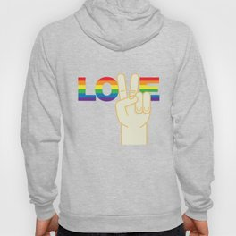 Peace and Love Hoody