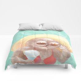Sunglass Cat Comforters