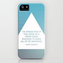 Shapes & Colors iPhone Case