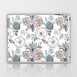 Indy Bloom Design Periwinkle Rose Laptop & iPad Skin