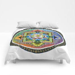 Thang-ga of Green Tara Comforters