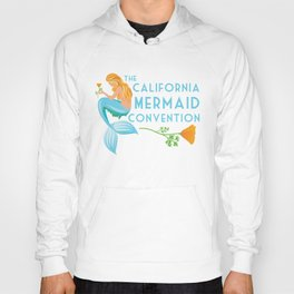 Simple Logo ·•· California Mermaid Convention Hoody