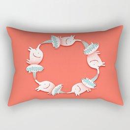 Keep The Fun Going Quote Print Rectangular Pillow