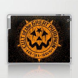 Cult of the Great Pumpkin: Alchemy Logo Laptop & iPad Skin