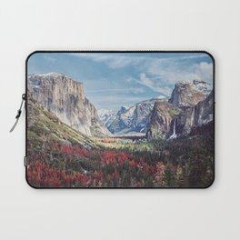 Tunnel View Yosemite Valley Laptop Sleeve