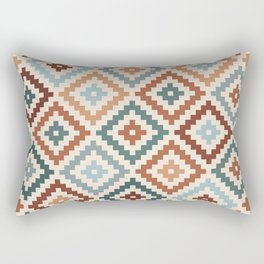 Aztec Block Symbol Ptn TCT Rectangular Pillow