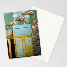 Penguin Walk Stationery Cards