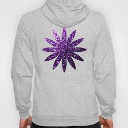 Beautiful Dark Purple glitter sparkles Hoody