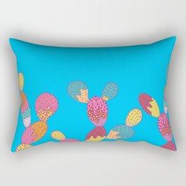 Summer Succulent Rectangular Pillow