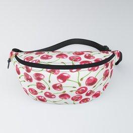 Watercolor cherries pattern Fanny Pack