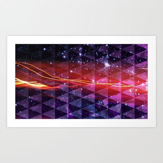 In SpaceS BETWEEN Art Print