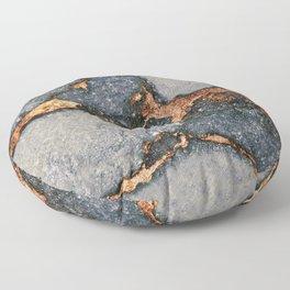GEMSTONE GREY & GOLD Floor Pillow