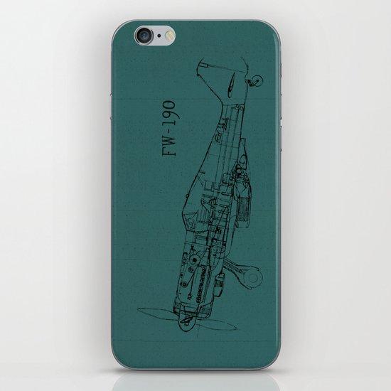 FW - 190 (Colour) iPhone & iPod Skin