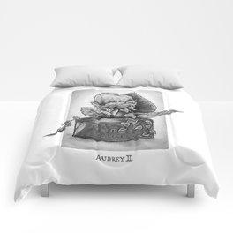 Audrey II. Little Shop of Horrors Comforters
