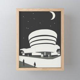 Frank Lloyd Wright, Solomon R. Guggenheim Museum Framed Mini Art Print