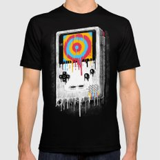 Gaming LARGE Mens Fitted Tee Black