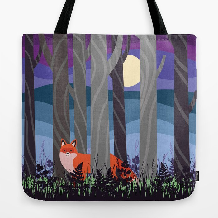 Magical Woodland (St. Norbert) Tote Bag