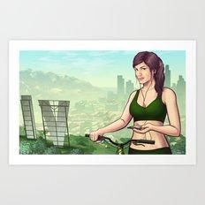 Welcome to Vinewood  Art Print