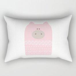 Baby pig Rectangular Pillow