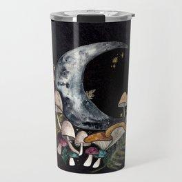 Mushroom Moon Travel Mug