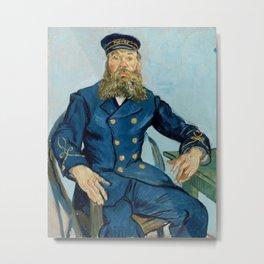 Vincent van Gogh - Portrait of Joseph Roulin Metal Print