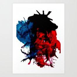 Heart Of A Monkey Art Print