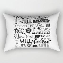 Where You Lead | Gilmore Girls Rectangular Pillow