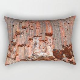 Agathe Log Texture Rectangular Pillow